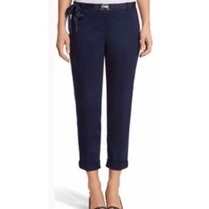WHBM blue crop pants
